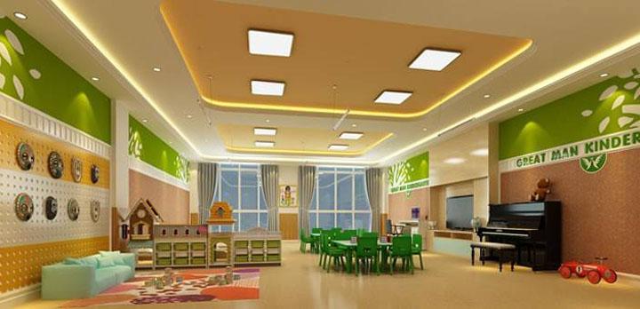 幼儿园电地暖安装
